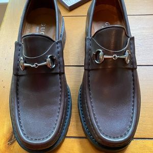 Gucci Brown Loafers Size 5